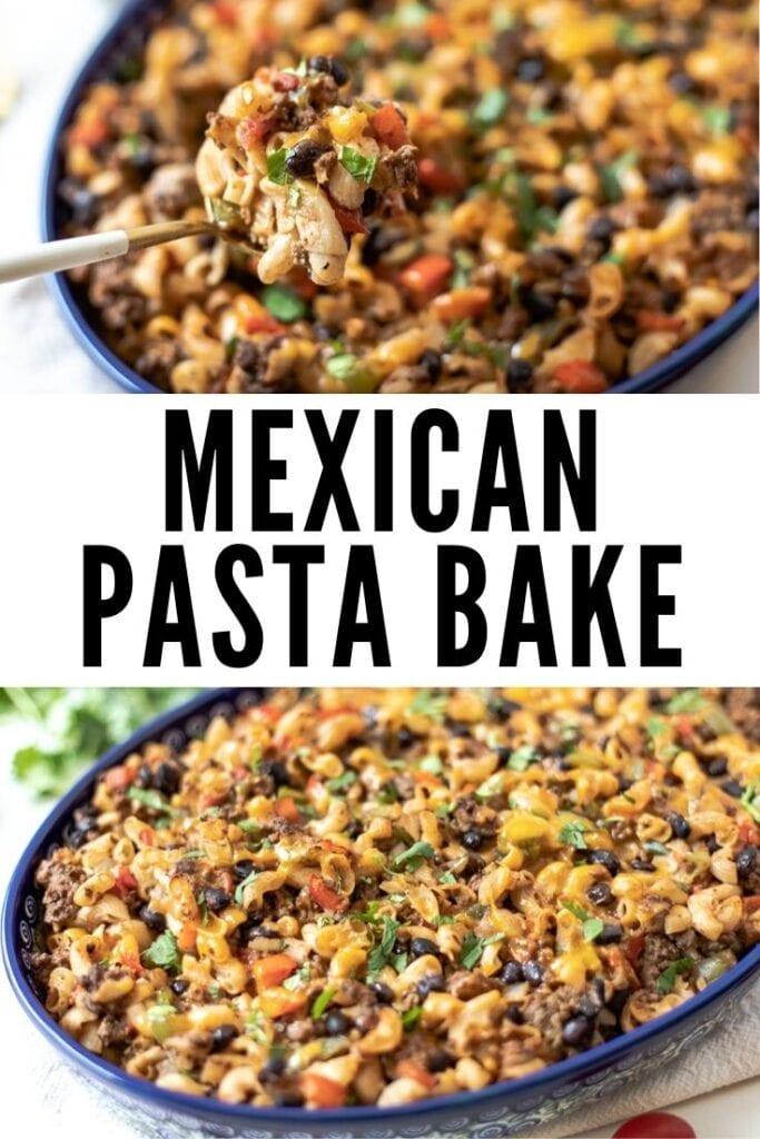 mexican pasta bake
