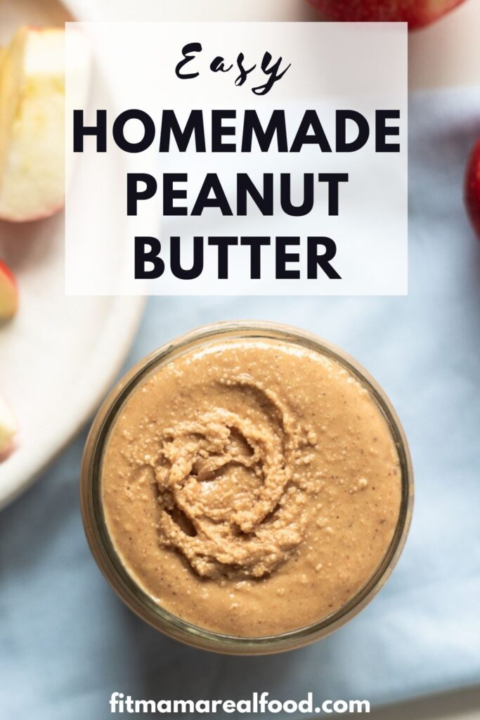 how to make peanut butter at home
