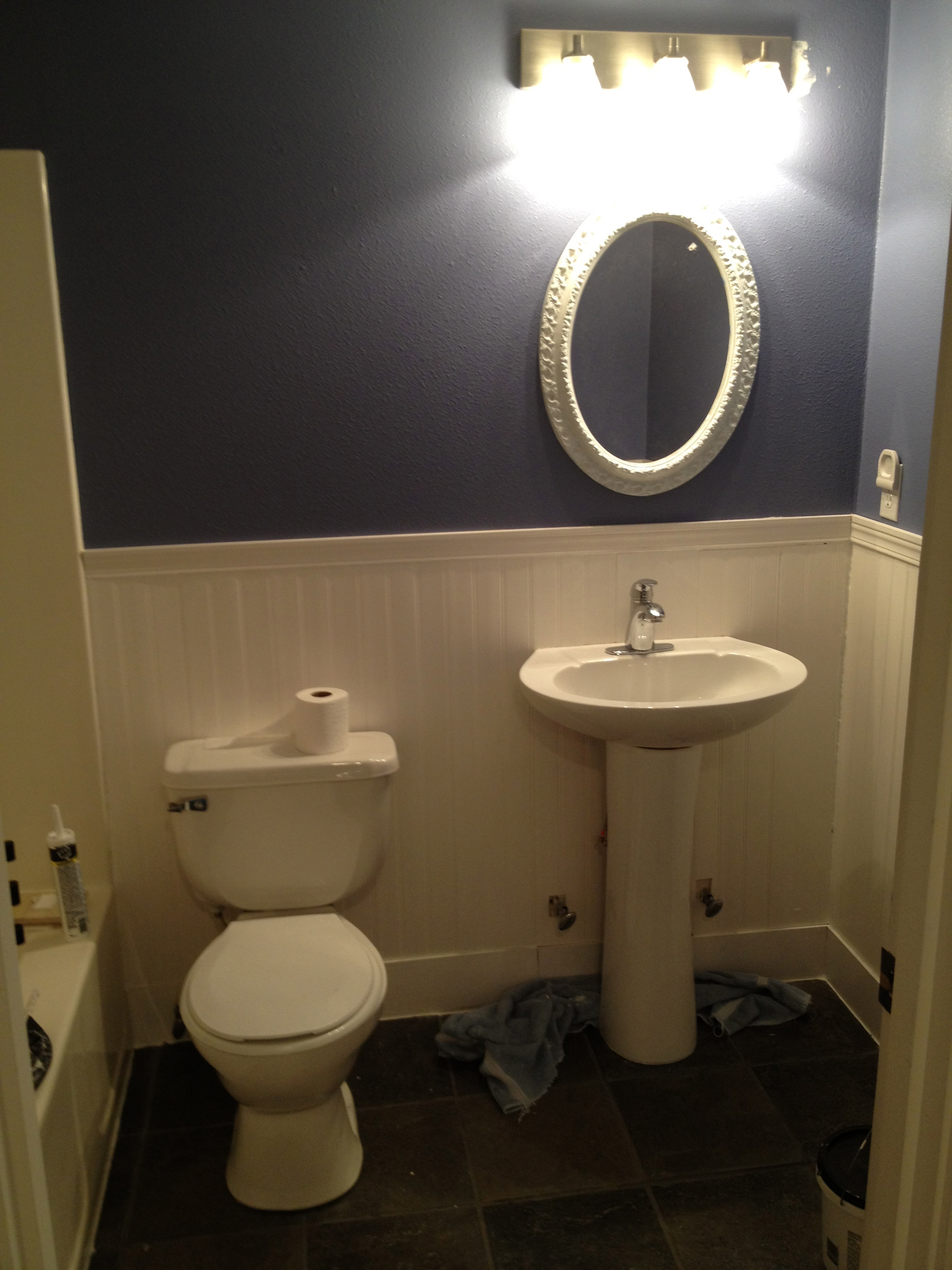 Downstairs Bathroom Remodel Before After Fit Mama Real Food