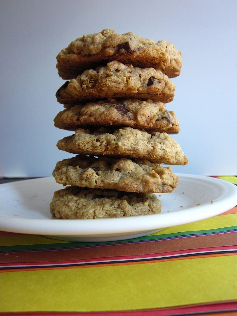 how to make oatmeal chocolate chip cookies without eggs