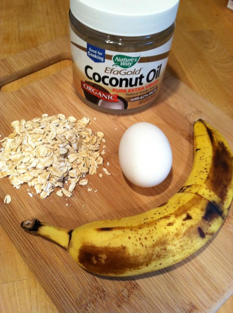banana-egg-oat pancake - Fit Mama Real Food