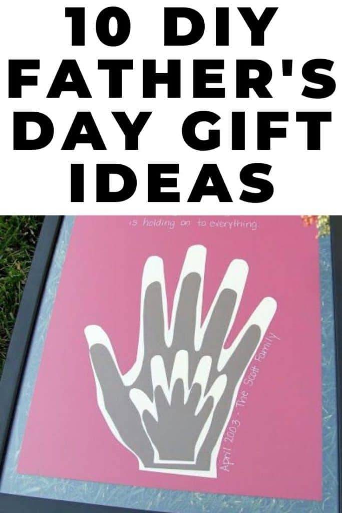 From baby to dad 10 homemade father's day gift ideas