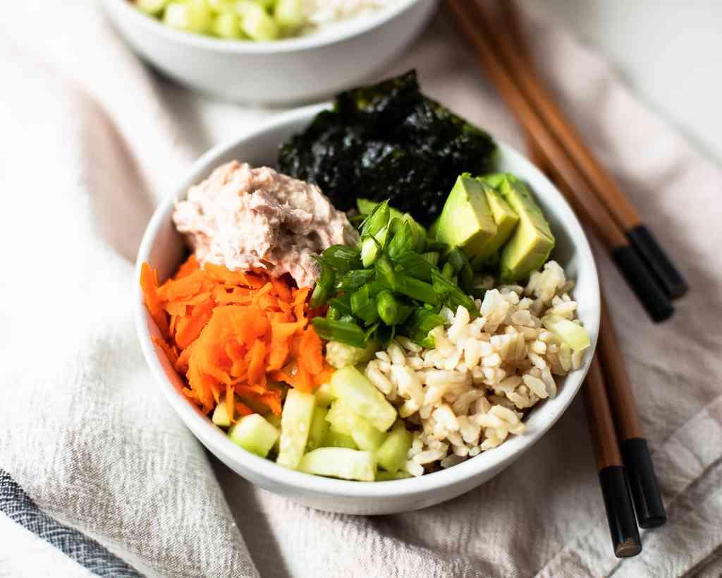 Tuna Sushi Bowls