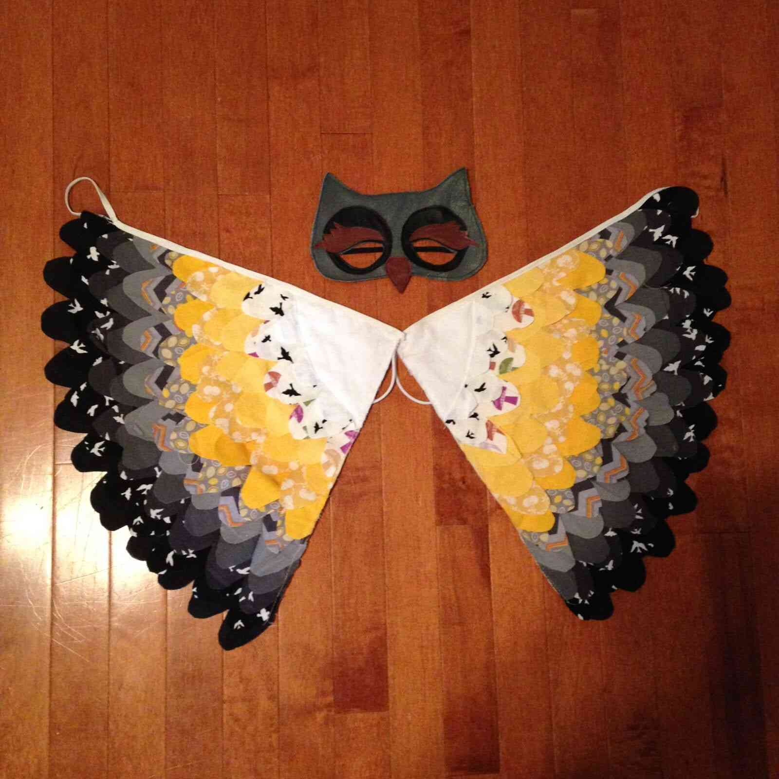 DIY owl costume