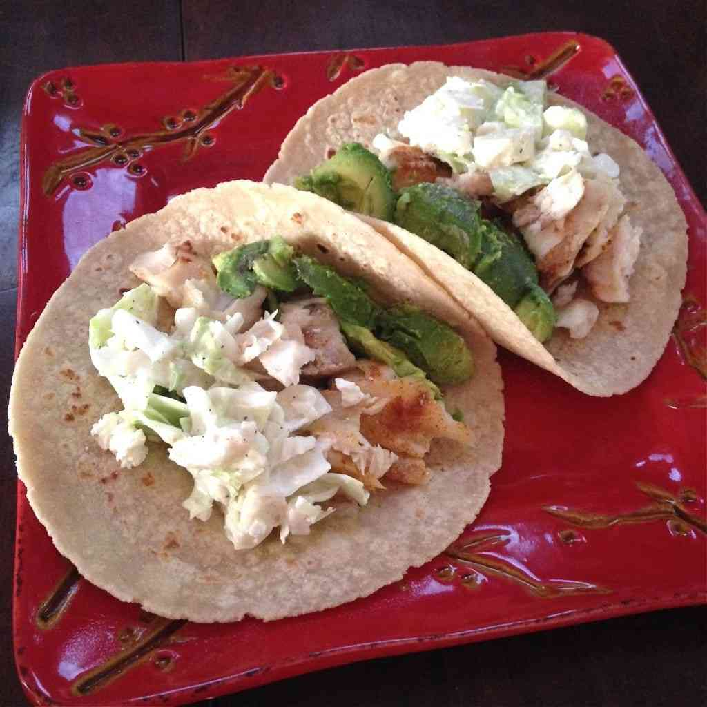 Fish tacos with feta slaw fit mama real food for Fish tacos with coleslaw