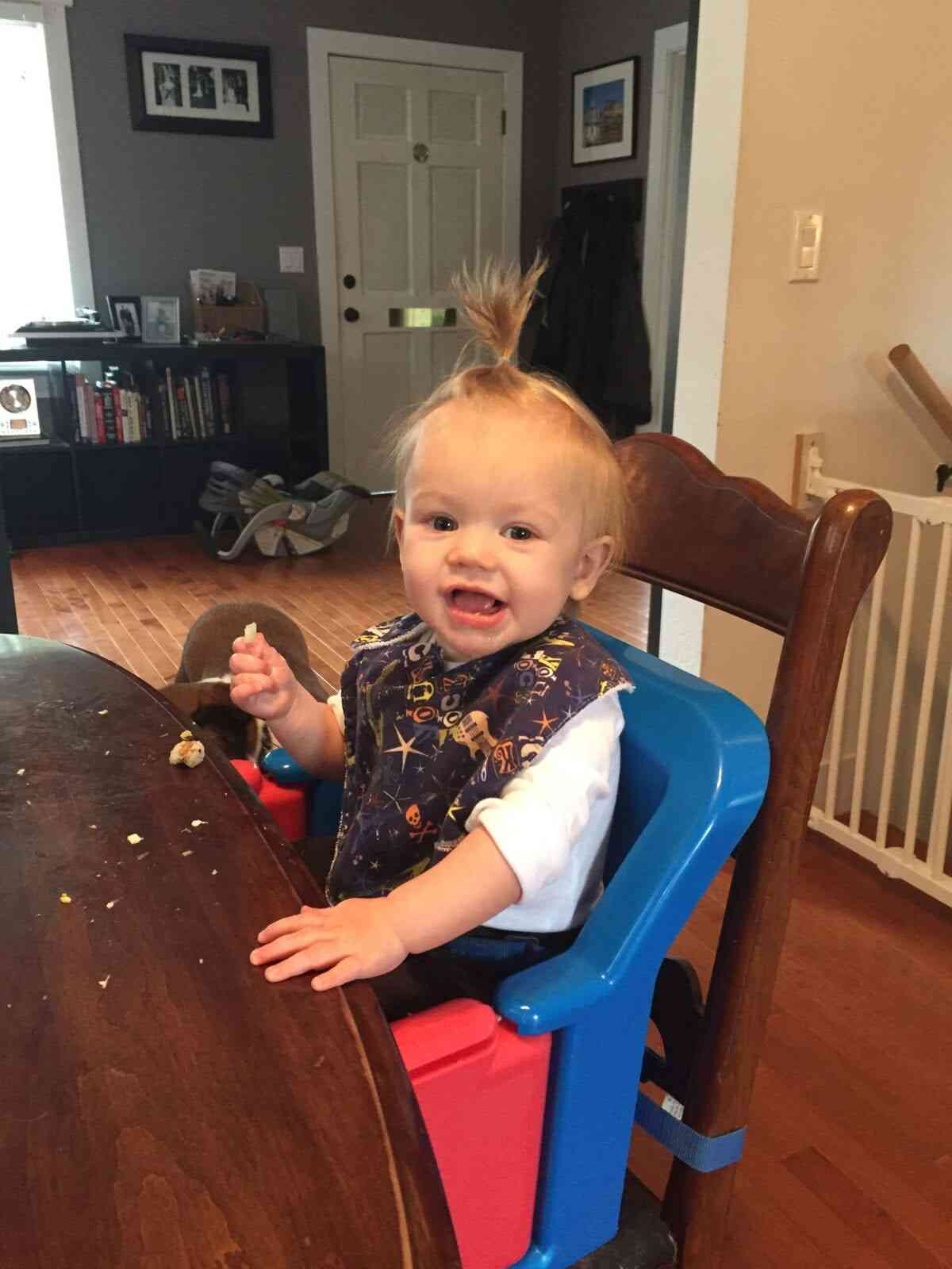 baby-led weaning: toddler vs baby