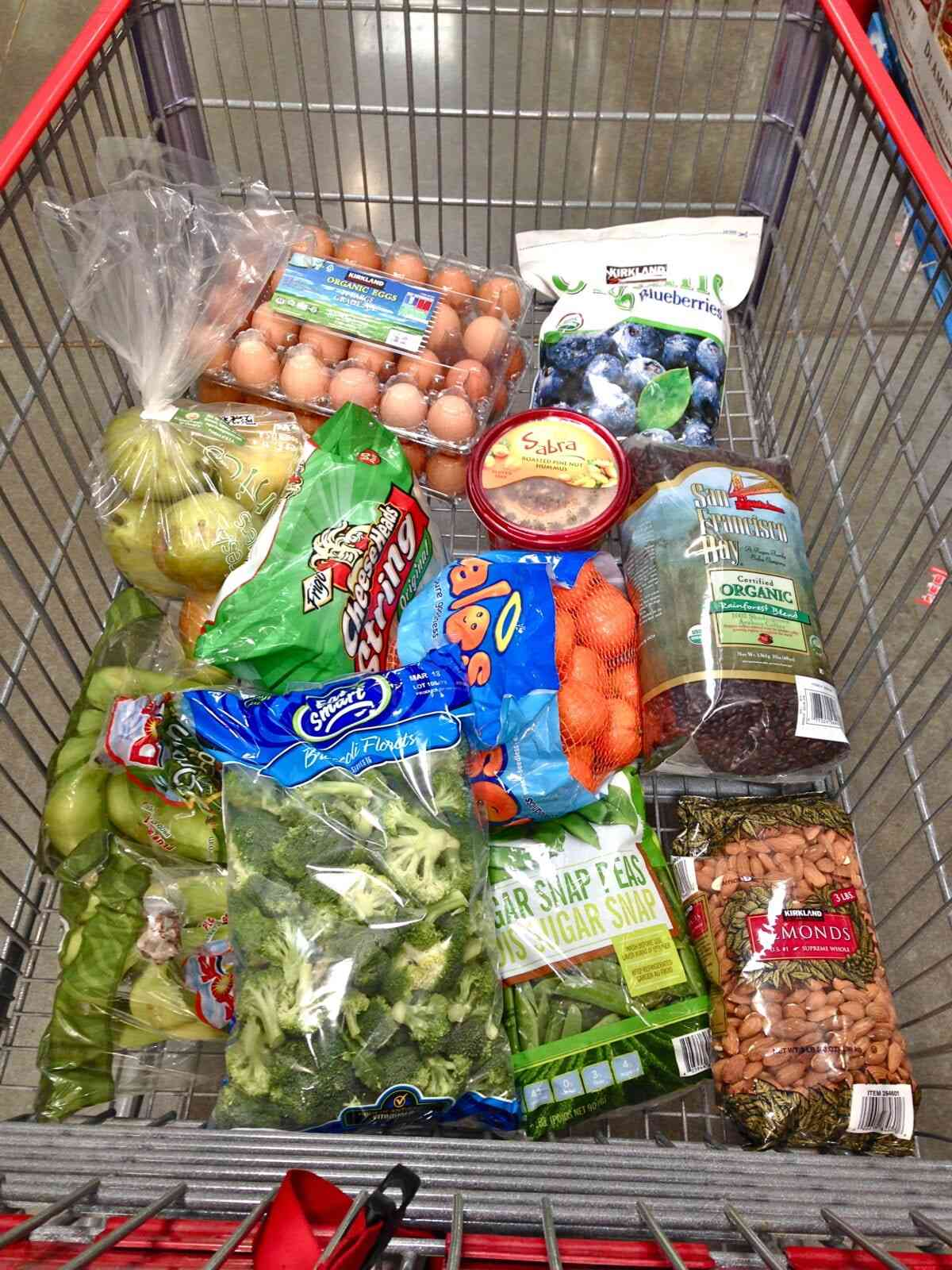 what's in my costco cart + food budget talk