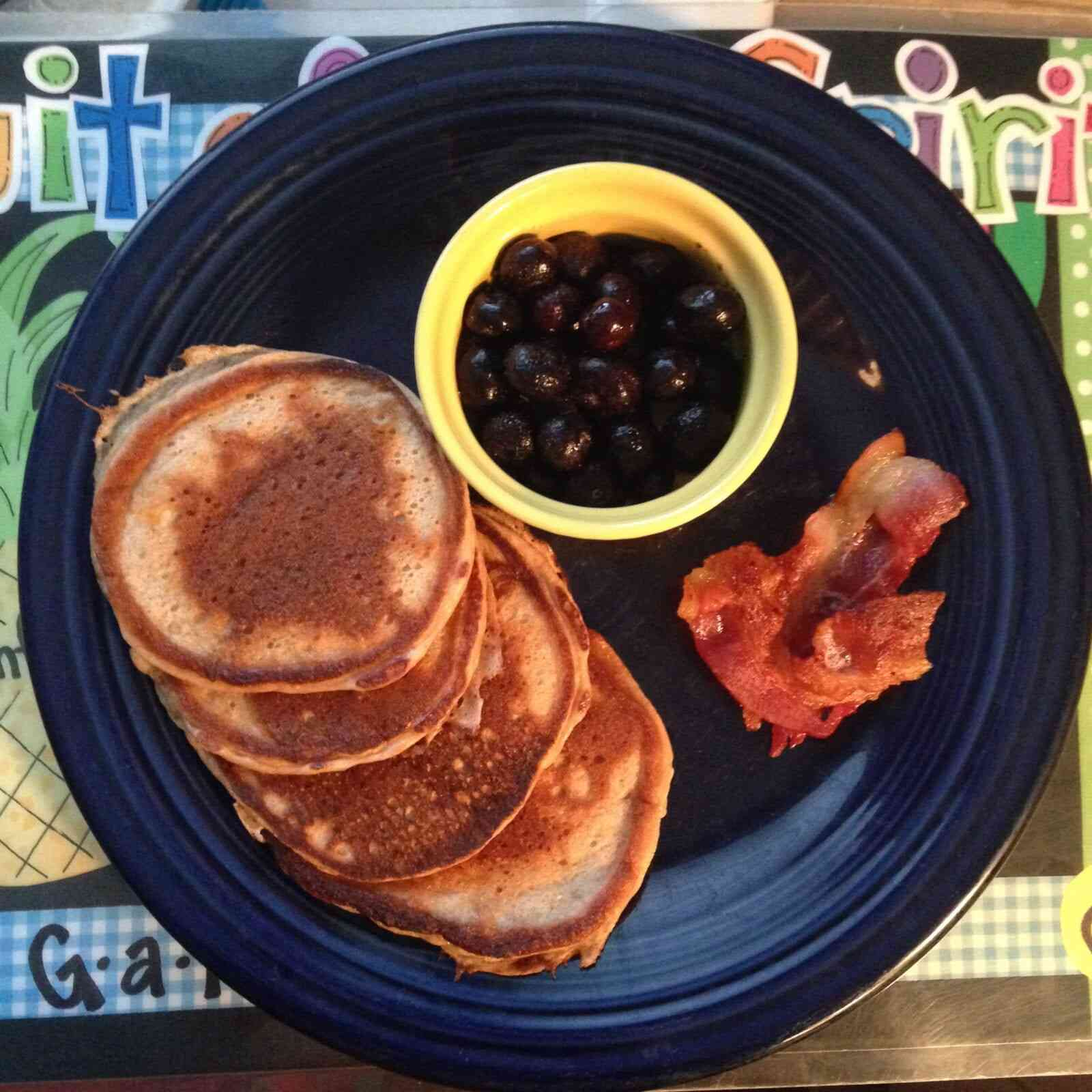 my toddler breakfast experiment