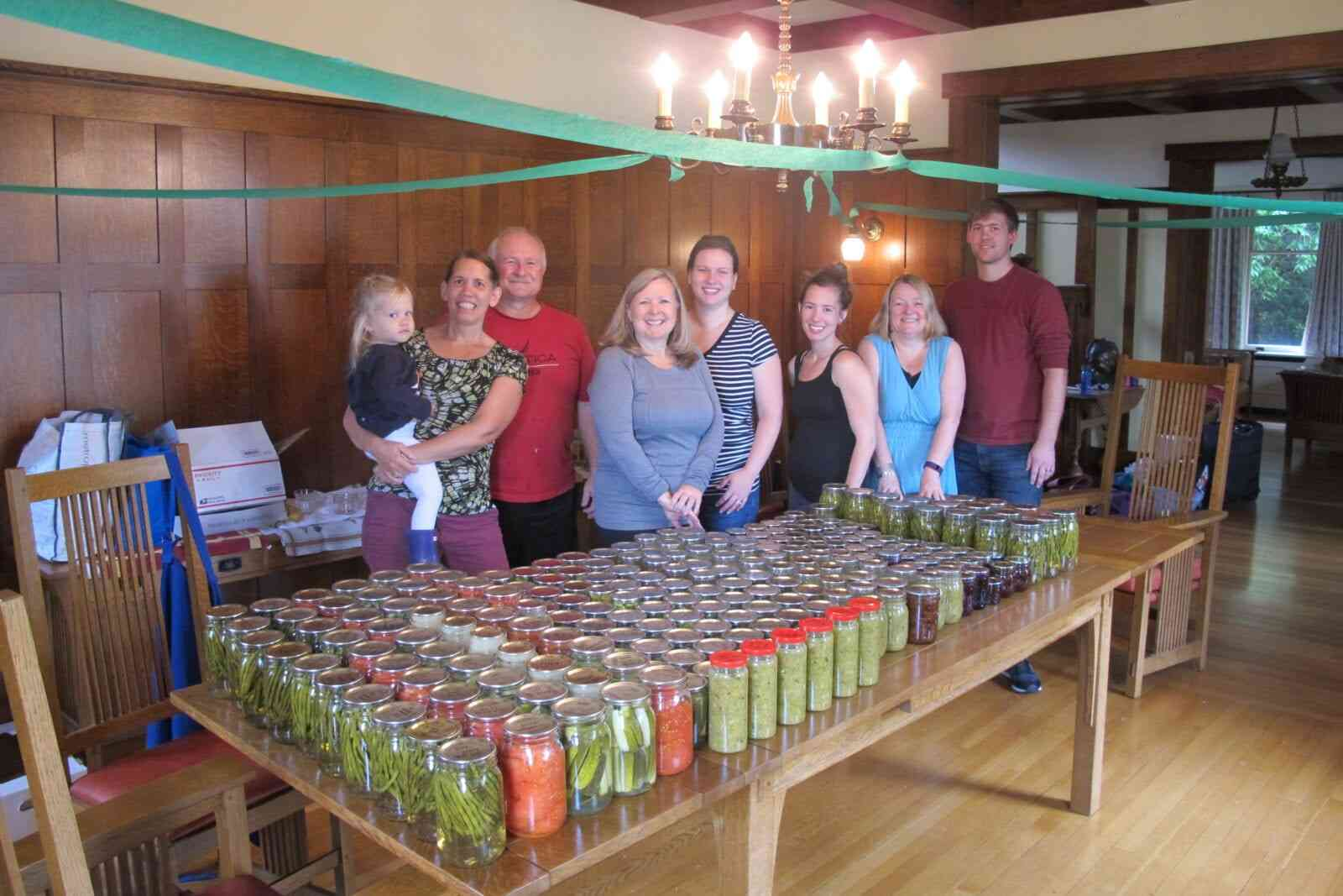 third annual libby family canning weekend