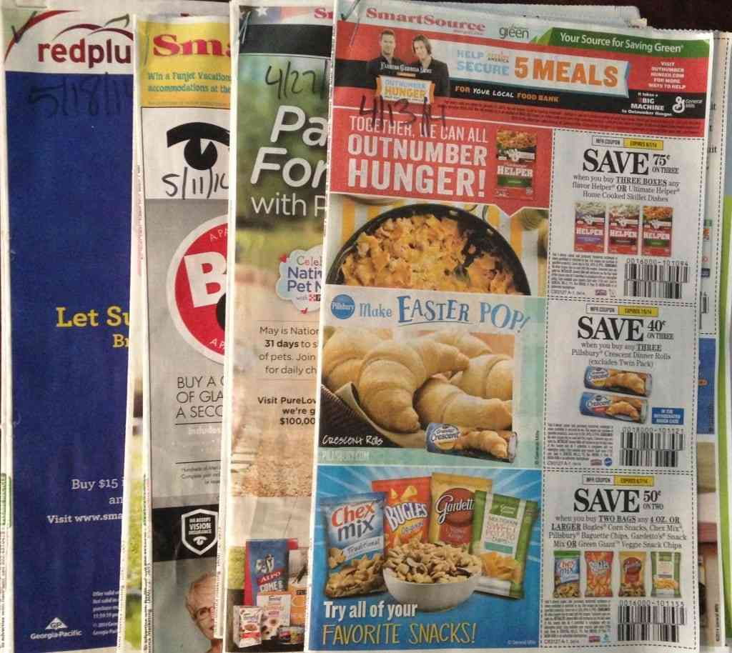 healthy on $75: on couponing