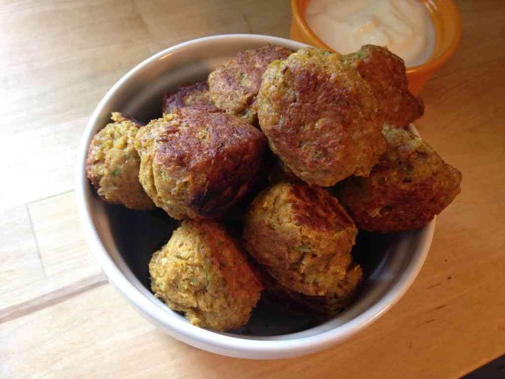 spicy chickpea balls