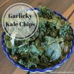 garlicky kale chips