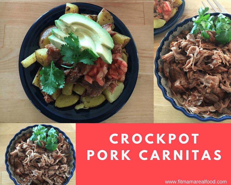 crockpot pork carnitas - Fit Mama Real Food
