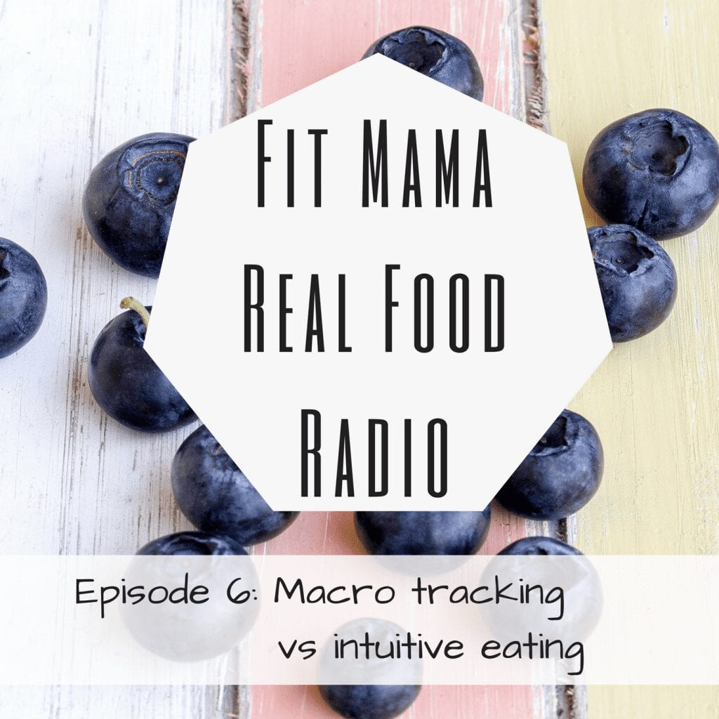 macro tracking vs intuitive eating