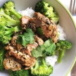 Crock Pot Coconut Green Curry Basil Chicken