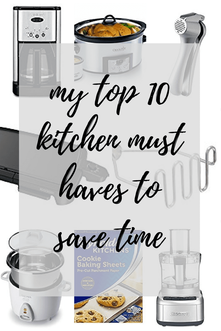 my top 10 kitchen must haves to save time - Fit Mama Real Food