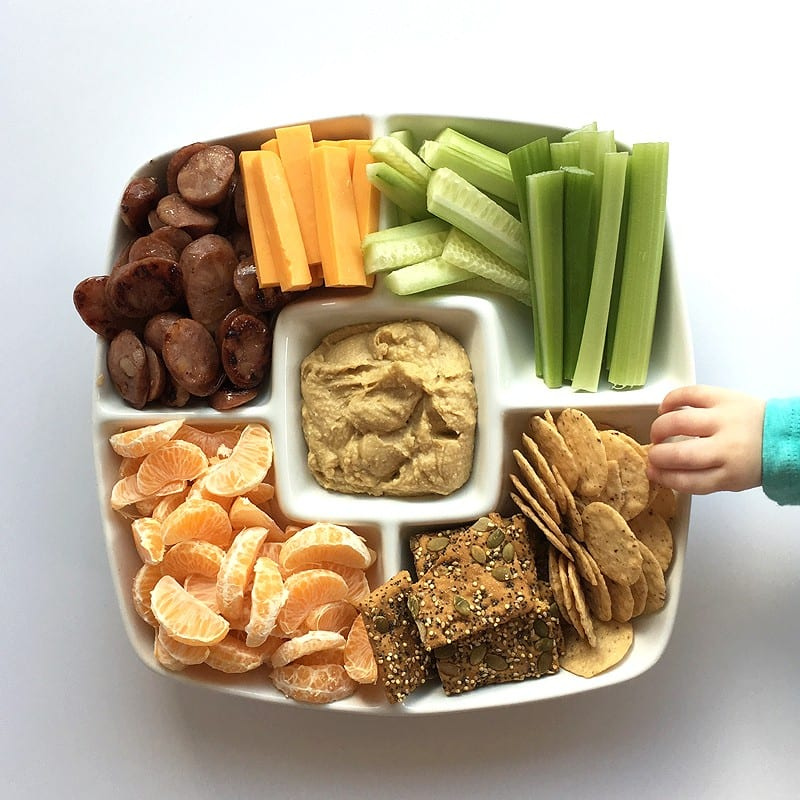 snack platter lunch
