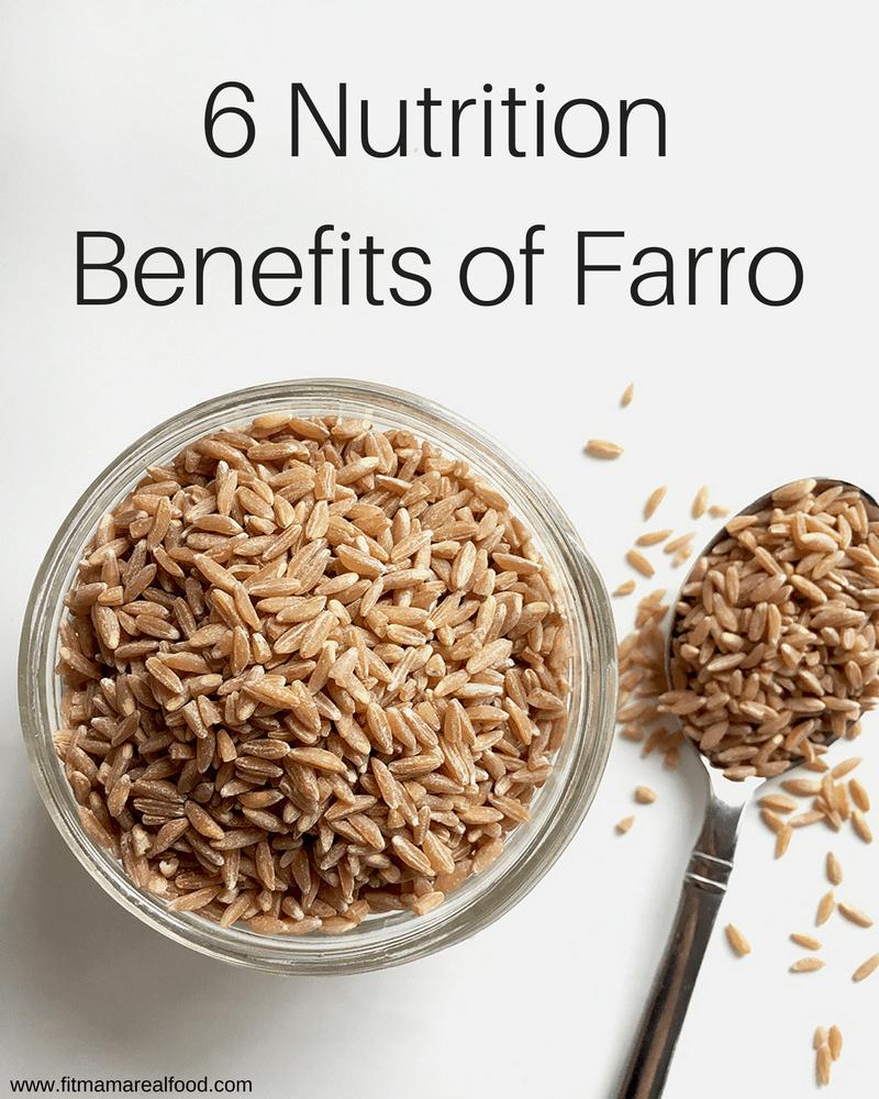 6 nutrition benefits of farro