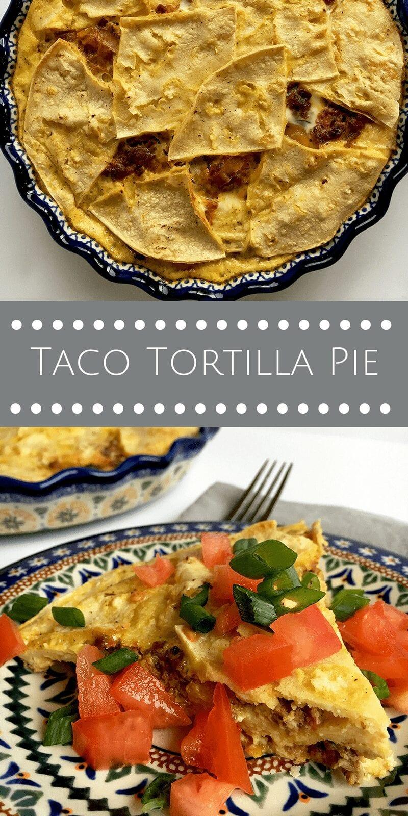 taco tortilla pie