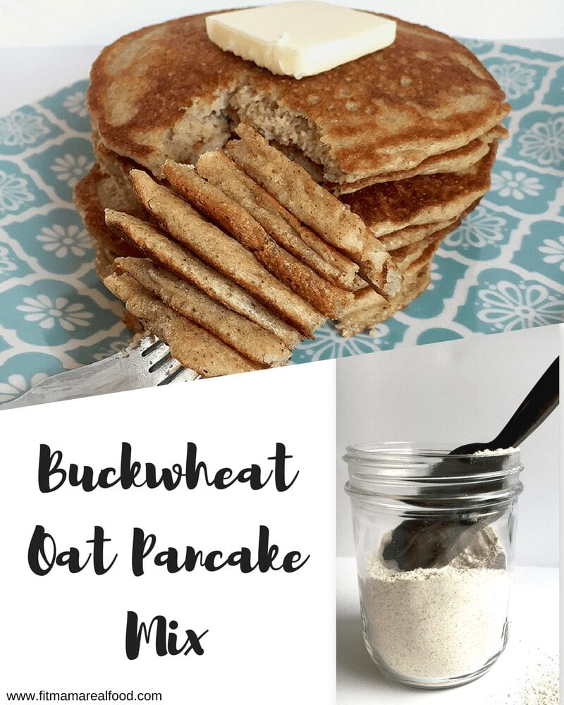 buckwheat oat pancake mix
