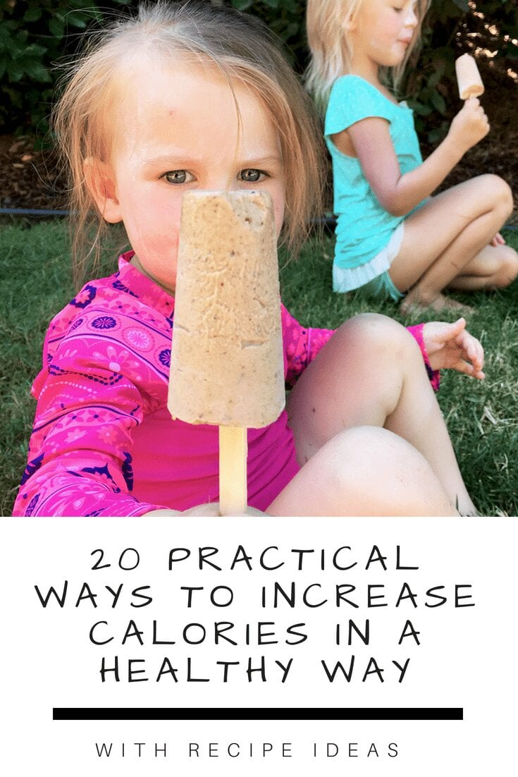 20 practical ways to increase calories in a healthy way