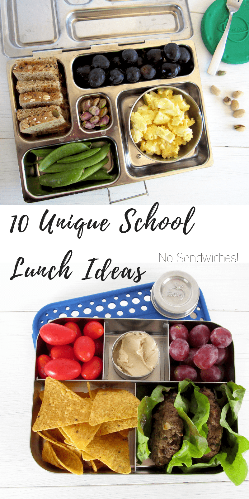 10 unique school lunch ideas no sandwiches #lunchbox #schoollunch #kidfood