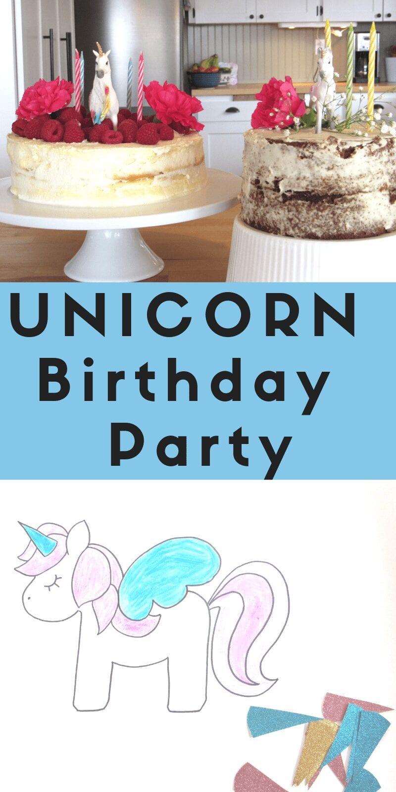 unicorn birthday party | unicorn cake, unicorn crafts