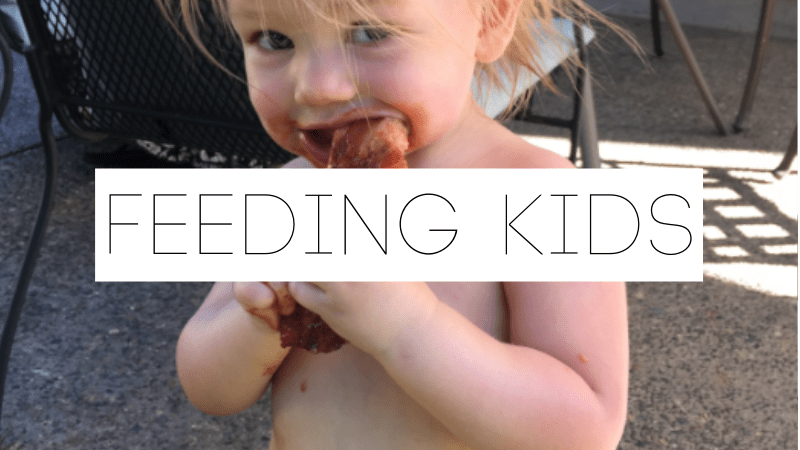 Category | Feeding Kids real food