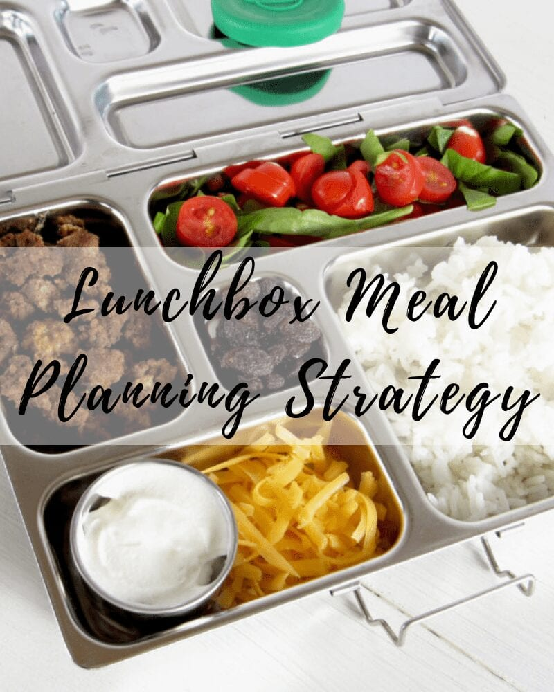 Lunchbox Meal Planning Strategy