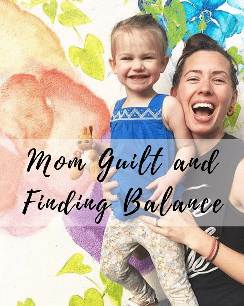 mom guilt and finding balance - fit mama real food radio #88