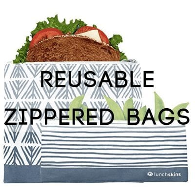 reusable zippered bag