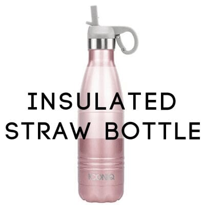 straw bottle