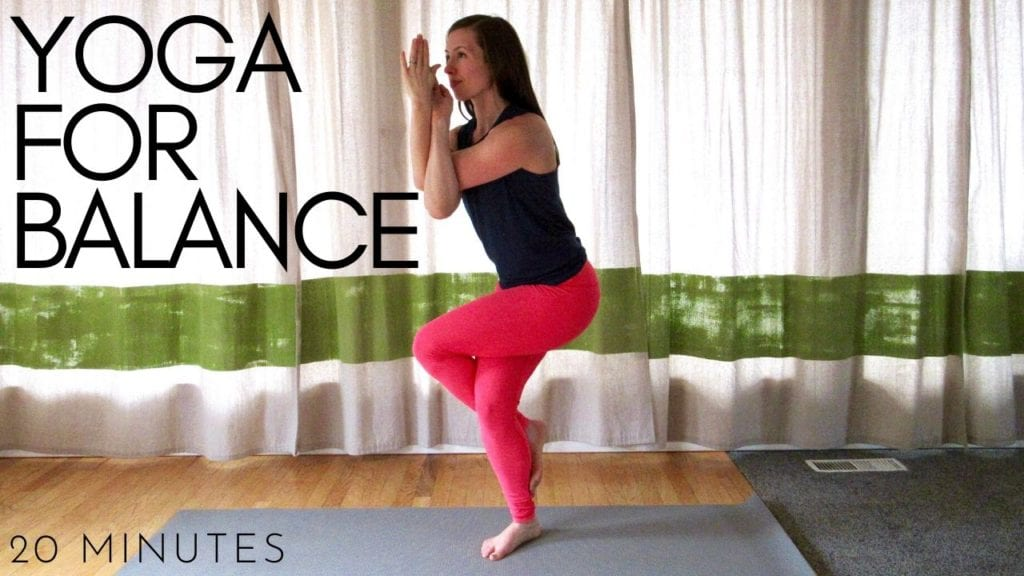 20 minute yoga for balance workout