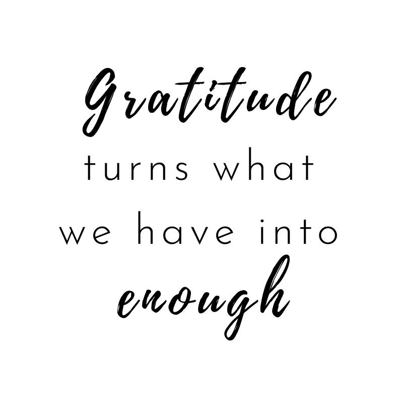 start a gratitude practice