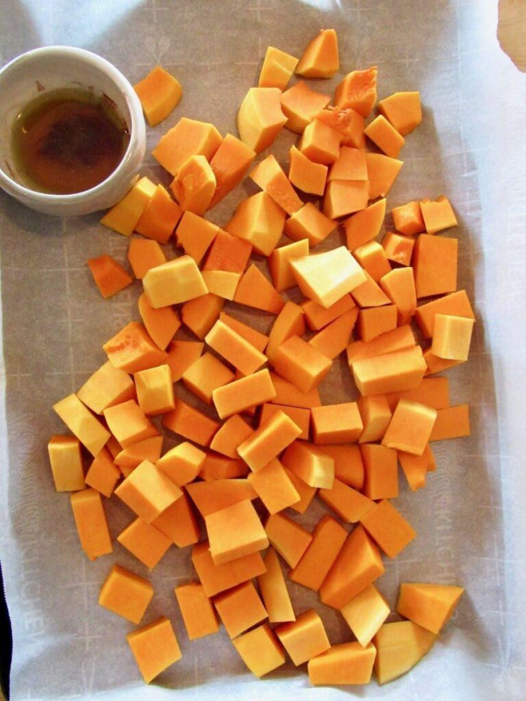 Maple Cinnamon Roasted Butternut Squash