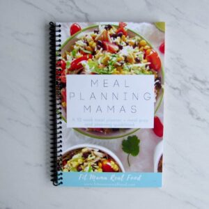 Meal Planning Mamas - a 52 week meal planner + meal prep and planning guidebook