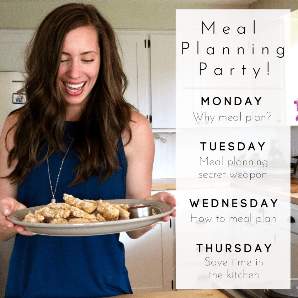 4 Day Meal Planning Party!
