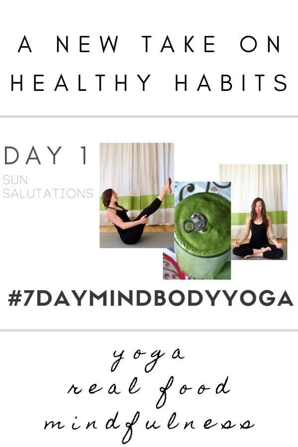 Day 1 7 day mind body yoga reset #7daymindbodyyoga