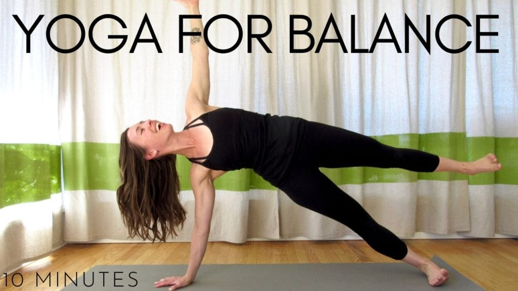 10 minute yoga for balance