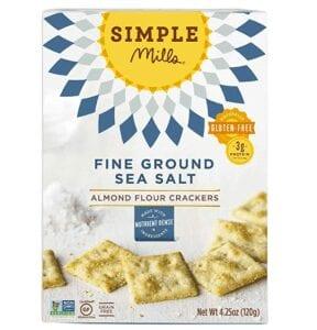 Simple Mills Almond Flour Sea Salt Crackers