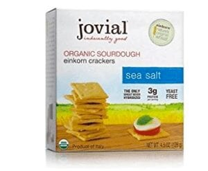 Jovial Sourdough Einkorn Crackers