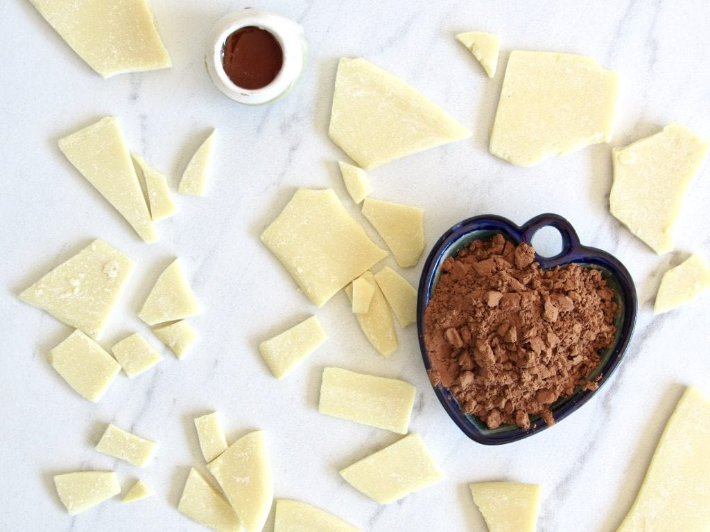 homemade dairy free low sugar chocolate