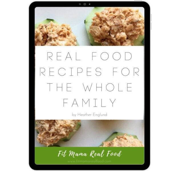 ebook real food recipes for the whole family