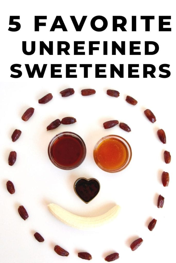 the ultimate guide to natural sweeteners | 5 favorite unrefined natural sweeteners