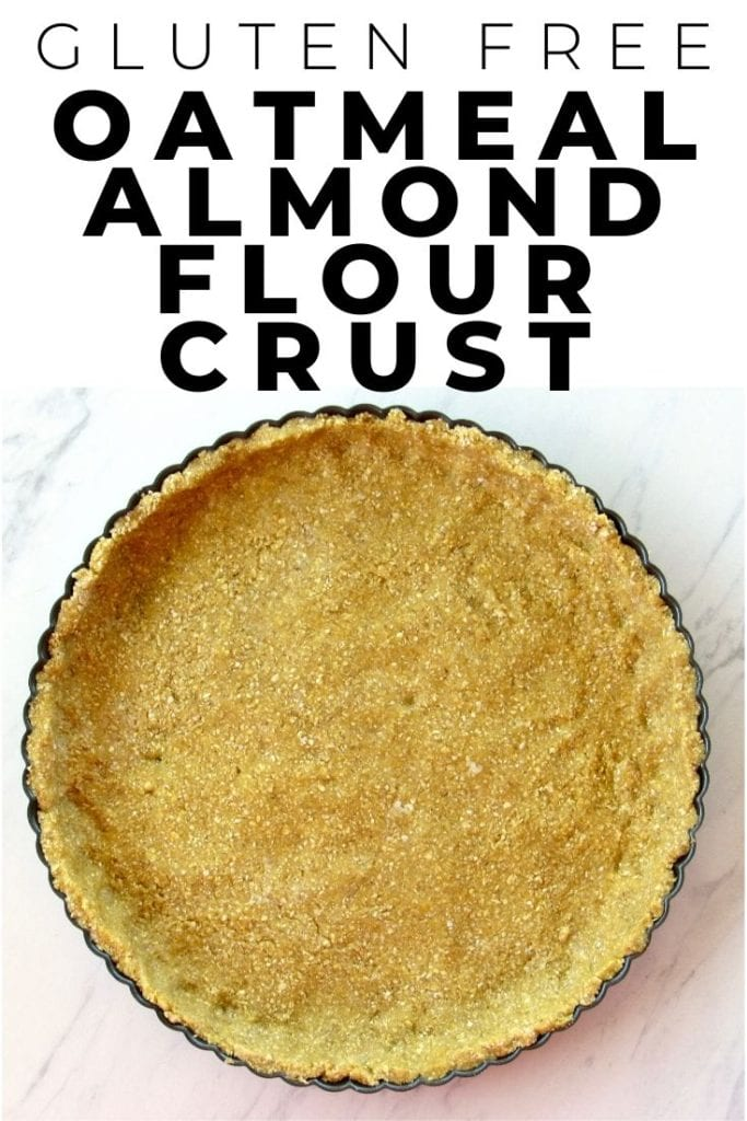 Gluten Free Oatmeal Almond Flour Crust | quiche, tarts and pies
