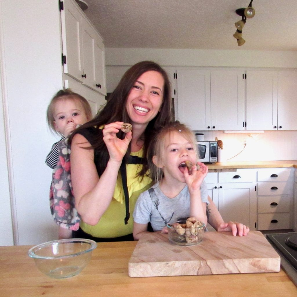 Make Chocolate Covered Dried Fig Bites with kids