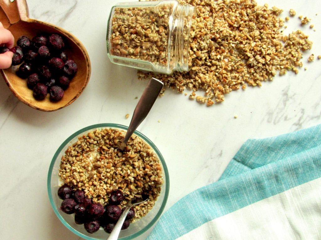 Hemp Granola Recipe Naturally Sweet Gluten Free Fit Mama Real Food