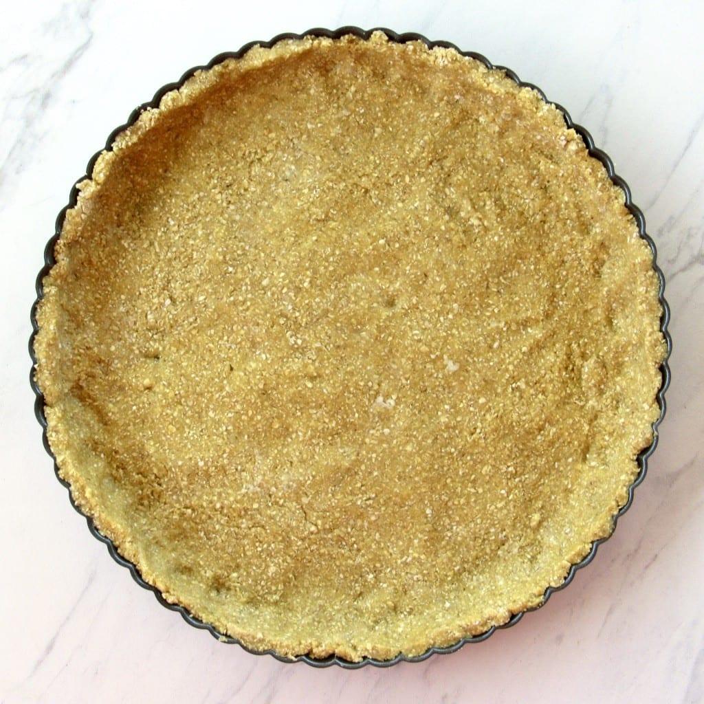 Oatmeal Almond Flour Crust for Quiche