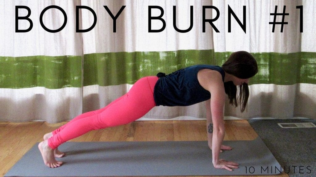 10 Minute Body Burn Workout #1
