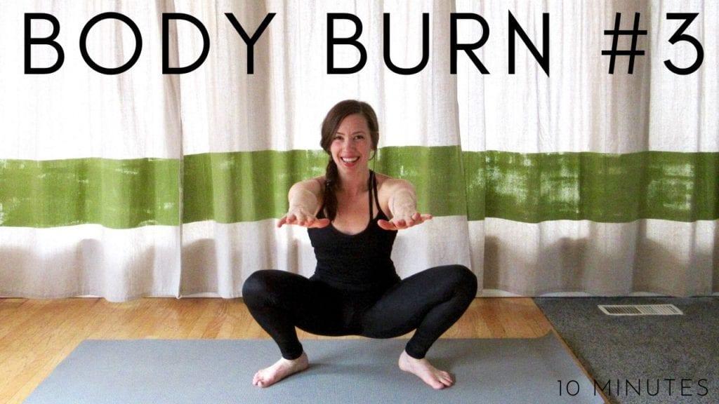 10 Minute Cardio Blast Body Burn Workout